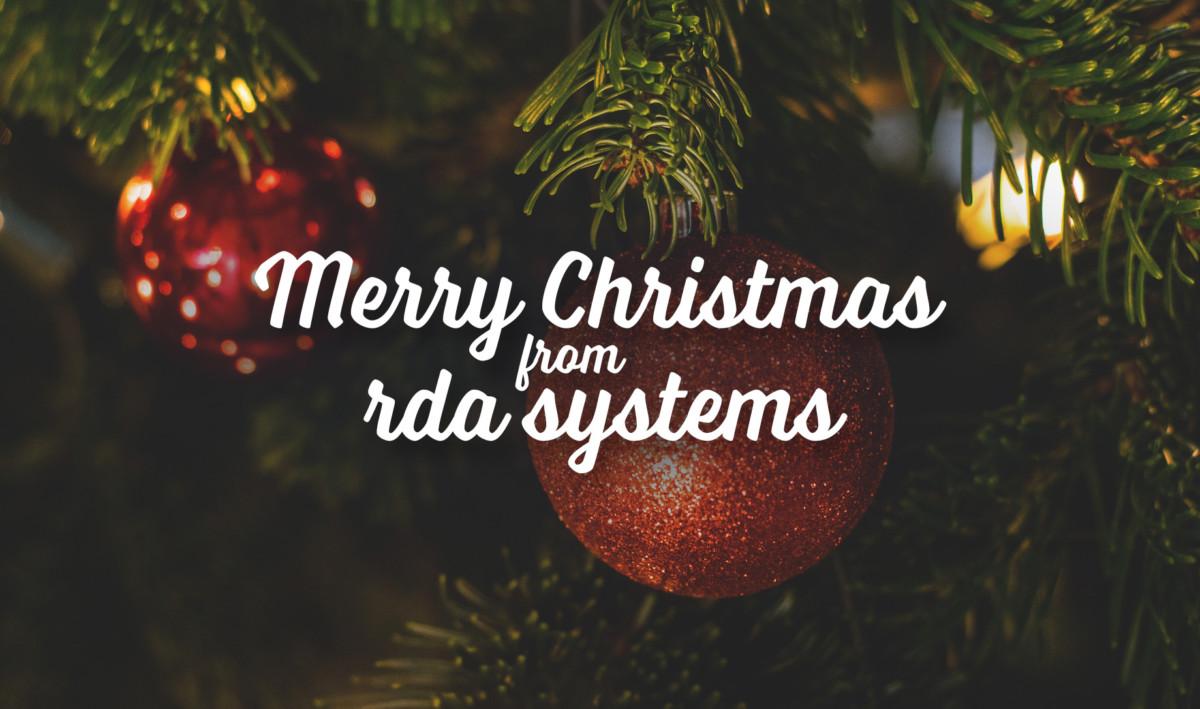 RDA merry christmas
