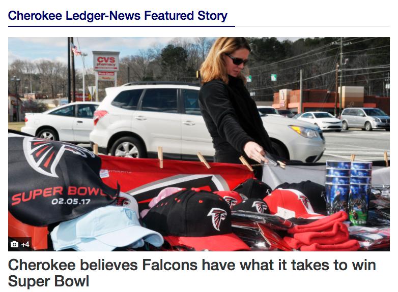 RDA Super Bowl Falcons Mimi