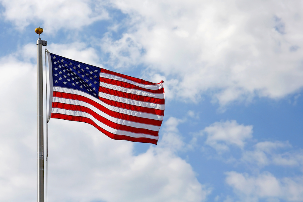 RDA 4th of July flag